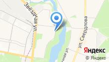 Юниос на карте