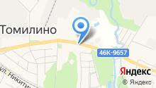 Сады Подмосковья на карте