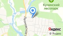 Леоновский Парк на карте
