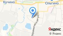Детский сад №13, Василек на карте