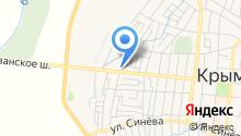 Продуктовый киоск на карте