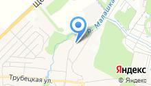 ВИС-М на карте