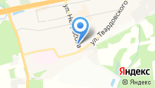 Трояныч на карте