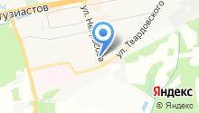 Tesla на карте