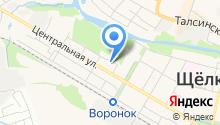 Щелковские бани на карте