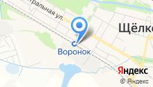 Магазин оптики на Первомайской на карте
