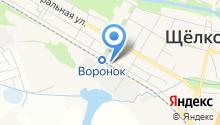 Продовольственный магазин на Первомайской на карте