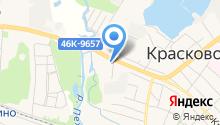 Храм Владимирской Иконы Божией Матери в Красково на карте