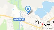 Пузов на карте