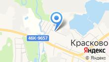 Лыткаринский на карте