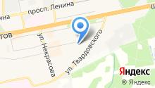 Гимназия №3 на карте