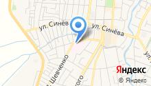 Крымская городская больница на карте