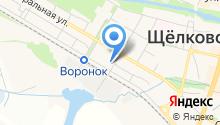 Щёлковская районная общественная организация охотников и рыболовов на карте
