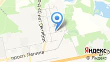 Мировые судьи Балашихинского района на карте