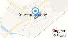 Почтовое отделение №140162 на карте