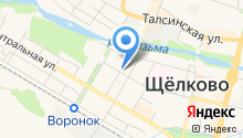 Мировые судьи Щёлковского района на карте