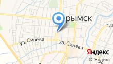 Крымский хлебозавод на карте