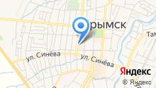 Крымский хлебзавод на карте