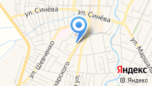 Теплодар на карте