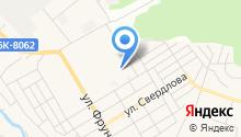 Богородский на карте