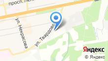 Верона на карте