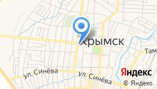 Крымская межпоселенческая районная библиотека на карте