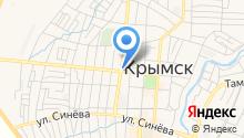 Управление Федеральной службы РФ по контролю за оборотом наркотиков по Краснодарскому краю на карте