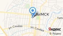 Крымская межрайонная прокуратура на карте
