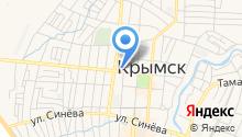 Крымская торгово-промышленная палата на карте