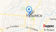 Крымский медицинский центр на карте