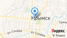 Отдел №12 Управления Федерального казначейства по Краснодарскому краю на карте