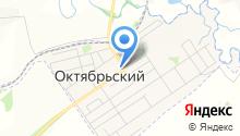 Октябрьский центр образования, МБОУ на карте