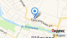 Магазин сухофруктов и орехов на карте