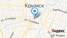 Центр занятости населения Крымского района на карте