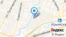 Управление Пенсионного фонда РФ в Крымском районе на карте