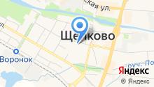 Ветеринарная клиника на Парковой на карте