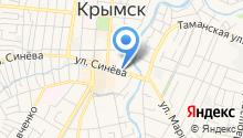 Аптечный пункт на ул. Синёва на карте