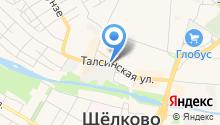 Б.У.-тик на карте