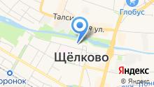 Тенториум Щёлково на карте