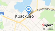 Красковский на карте