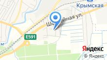 Крымская опытно-селекционная станция Северо-Кавказского зонального НИИ садоводства и виноградарства на карте