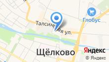 Объединенные переводчики на карте