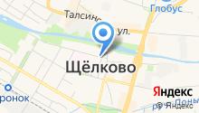 Салон массажа на карте