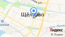 Управление специальной связи по Москве и Московской области на карте