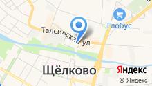 Почтовое отделение №141100 на карте