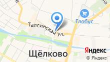 Ломбард-Подмосковье на карте