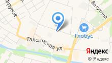 Офис-маркет на Комсомольской на карте