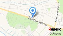 Малаховская городская похоронная служба на карте