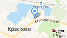 Московская Звезда на карте
