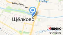 Межмуниципальное управление МВД России Щёлковское на карте